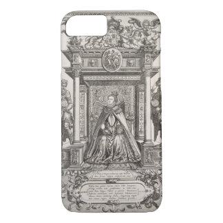 Koningin Elizabeth I (1533-1603) als Patroon van iPhone 8/7 Hoesje