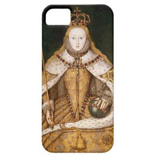 Koningin Elizabeth I in de Robes van de Kroning Barely There iPhone 5 Hoesje