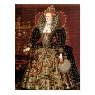 Koningin Elizabeth I van Engeland Briefkaart