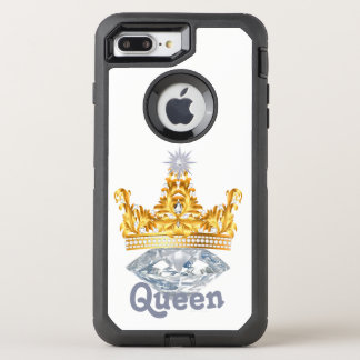 Koningin Gold Crown & Diamanten, Hoesje Otterbox