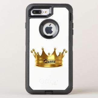 Koningin Gold & Wit Hoesje Otterbox