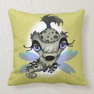 Koningin Horsha Throw Pillow Coussin Monstre Sierkussen