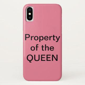 Koningin iPhone X Hoesje
