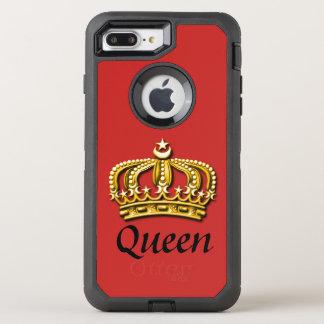 Koningin Red & Gouden Hoesje Otterbox