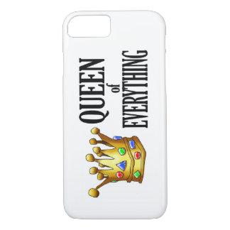 Koningin van alles het Hoesje van Smartphone