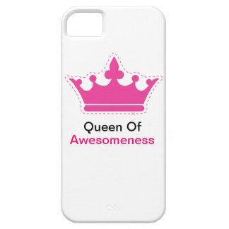 Koningin van Awesomeness Barely There iPhone 5 Hoesje