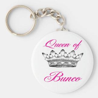 koningin van bunco sleutelhanger