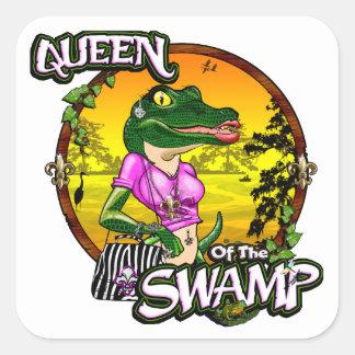 Koningin van de Stickers van het Moeras