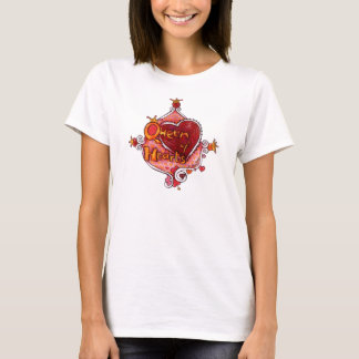 Koningin van de T-shirt van Harten