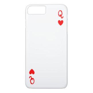 Koningin van de telefoonhoesje van Harten iPhone 7 Plus Hoesje