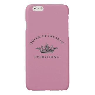 Koningin van Freakin alles Phonecase Glossy iPhone 6 Hoesje