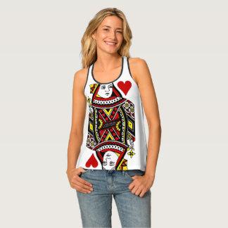 Koningin van het Overhemd van het Ontwerp van Tanktop