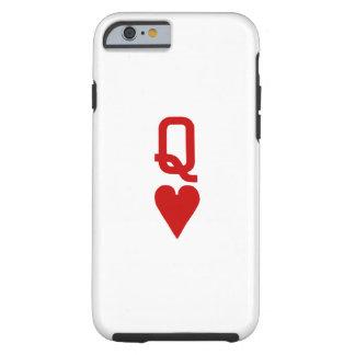 Koningin van iPhone6/6S Taai Hoesje van Harten