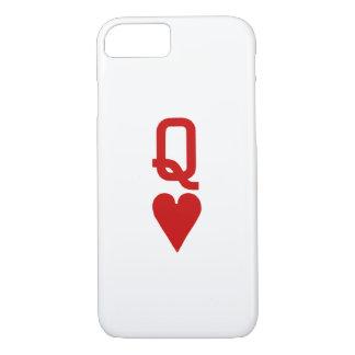 Koningin van iPhone 7 van Harten nauwelijks daar iPhone 8/7 Hoesje