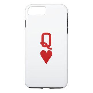 Koningin van iPhone 7 van Harten plus nauwelijks iPhone 8/7 Plus Hoesje