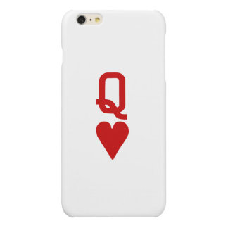 Koningin van iPhone van Harten 6/6S plus Hoesje iPhone 6 Plus Hoesje Glanzend