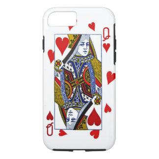 Koningin van iPhoneHoesje van Harten iPhone 7 Hoesje