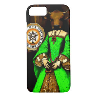 Koningin van Pentacles iPhone 7 van de Kaart van iPhone 7 Hoesje