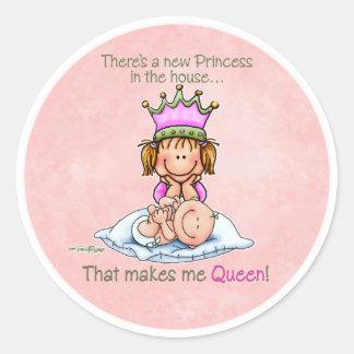 Koningin van Prinses - de Grote stickers van de Zu
