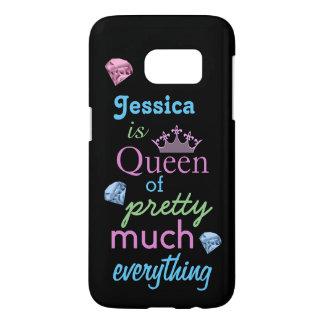 """""""Koningin van vrij veel alles """" Samsung Galaxy S7 Hoesje"""