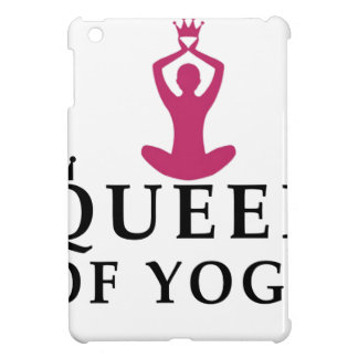 koningin van yogakroon iPad mini cover