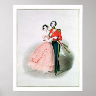 Koningin Victoria Poster