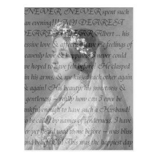 Koningin Victoria Quote Briefkaart