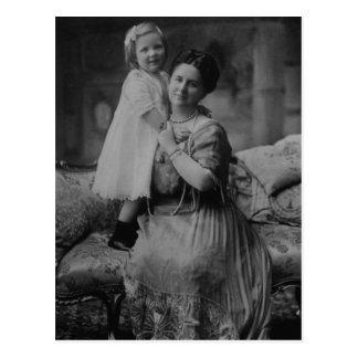 Koningin Wilhelmina & Juliana van Nederland Briefkaart