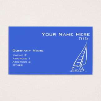 Koningsblauwen en het Witte Varen; De Boot van het Visitekaartjes