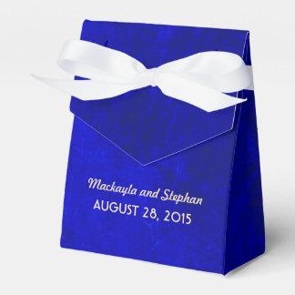 koningsblauwen huwelijk bedankdoosjes