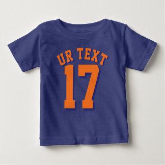 Koningsblauwen & Oranje Baby | Sporten Jersey Baby T Shirts