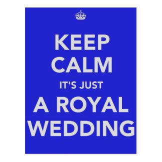 Koninklijk huwelijk - Kate & William - 29 april Briefkaart
