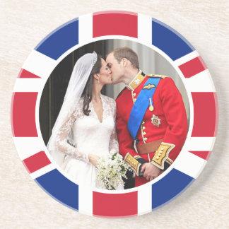 Koninklijk Huwelijk Zandsteen Onderzetter