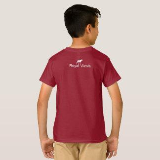 Koninklijk Vizsla t-shirtkind T Shirt