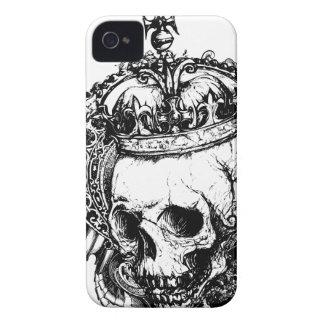 Koninklijke Dode iPhone 4 van het Metaal van de Go iPhone 4 Hoesje