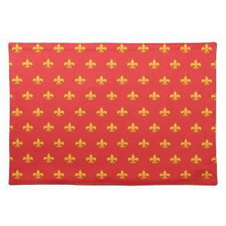Koninklijke Franse Rode Placemat