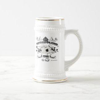 Koninklijke Gelijke Stenen bierkroes Bierpul