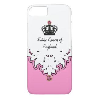 Koninklijke Koningin Monarchy Crown Jewel iPhone 8/7 Hoesje