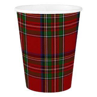 Koninklijke Stewart Plaid Custom Paper Cup