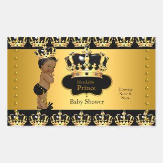 Koninklijke Stok 2 van het Baby shower van de Rechthoek Stickers