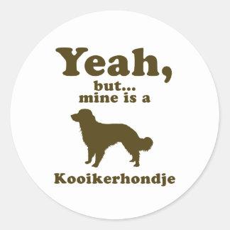Kooikerhondje Ronde Sticker