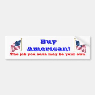 Koop Amerikaan Bumpersticker
