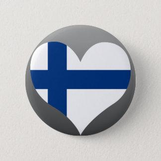 Koop de Vlag van Finland Ronde Button 5,7 Cm