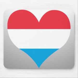 Luxemburg vlag muismat