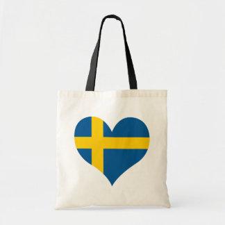 Koop de Vlag van Zweden Draagtas