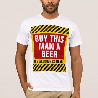Koop Dit Man een Partij van de Vrijgezel van het T Shirt