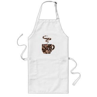 Kop Producten van de Bonen van de Koffie Lang Schort