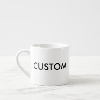 Kop van de Espresso van de douane 6oz de Witte