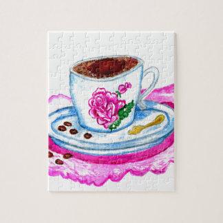 Kop van het Art. van de Koffie Puzzel