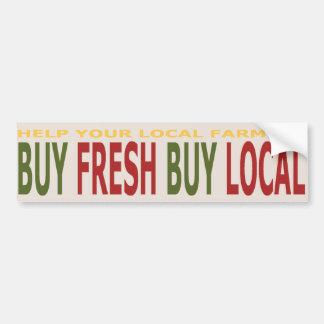 Kopen de Lokale Landbouwers van de hulp de Verse L Bumpersticker